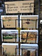 6-Postkaarten-|-Lente